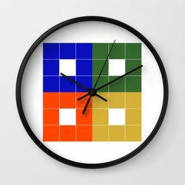 The Bridge (Block logo) Wall Clock