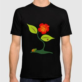 Plant and flower T-shirt