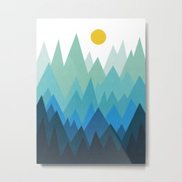 Dense forest Metal Print