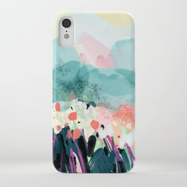 spring landscape iPhone Case
