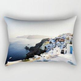 Santorini - Oia Rectangular Pillow