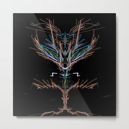 Neuron Printer Metal Print