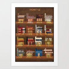 ARCHISTYLE Art Print