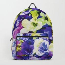 Colorful Pansies Backpack
