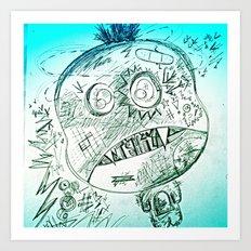 Jimmy Eat Shit Art Print