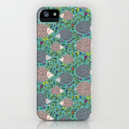 Scattered Hedgies iPhone Case