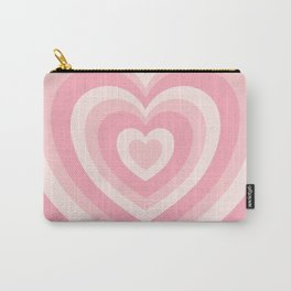 Pink Love Hearts  Carry-All Pouch