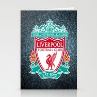 liverpool Stationery Cards featuring LIVERPOOL by Acus