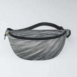 Slate Gray Pixel Wind Fanny Pack