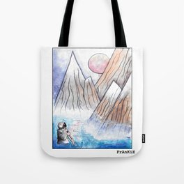 splashdown in the land of elsewhere Tote Bag