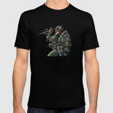 Raphael . TMNT Mens Fitted Tee MEDIUM Black