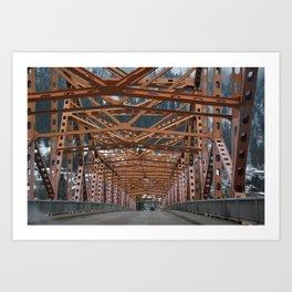 Nelson Structure Art Print