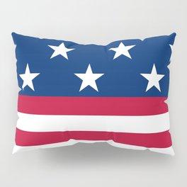 US Flag Pillow Sham