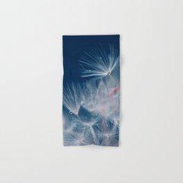 Snow Dandelion Hand & Bath Towel