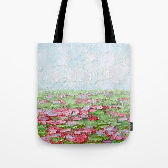 September Fields No. 2 Tote Bag