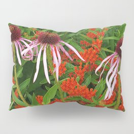Coneflowers and Butterfly weed 7605 Pillow Sham
