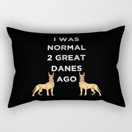 Dogs - Great Danes Rectangular Pillow