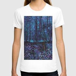 Van Gogh Trees & Underwood Indigo Turquoise T-shirt