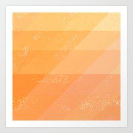 Sun Dragon Scales Art Print