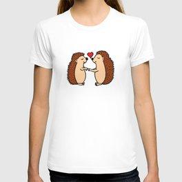Hedgepig love T-shirt