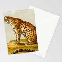 Leopard Henri Milne-Edwards, Alphonse Milne-Edwards, Hurt, illustration. - 1868 Stationery Cards
