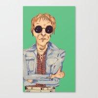 hippie Canvas Prints featuring hippie  by Lorelei Diener