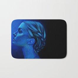 Blauw Bath Mat