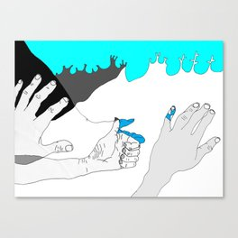 In case you were wondering. Canvas Print