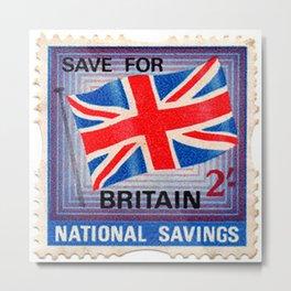 British War Savings Stamps Metal Print