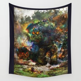 shadow of the witcher Wall Tapestry