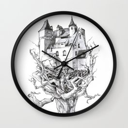 Up High Wall Clock