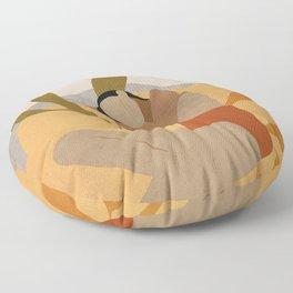 Girl 3 Floor Pillow