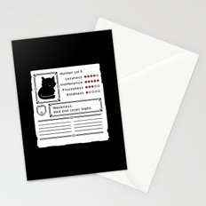 RPG Video Game Cat Stationery Cards