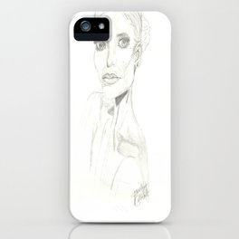 Anna iPhone Case