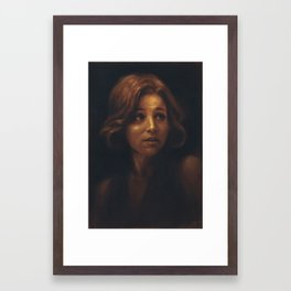 Julia Louis-Dreyfus Framed Art Print