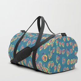 I don't need a why for freehand graphic design Duffle Bag