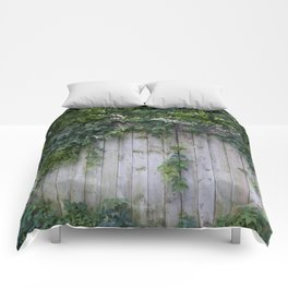 The Green Can Never Be Blocked Comforters