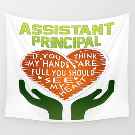 Assistant Principal Wall Tapestry