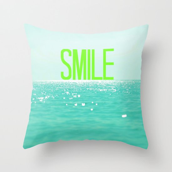 (: Throw Pillow