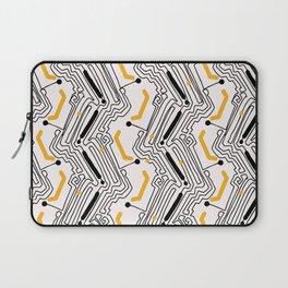 Modern Circuit Board Style Laptop Sleeve
