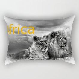 Africa V Rectangular Pillow