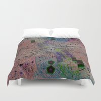 math Duvet Covers featuring Inverted Math by Stars Live Forever