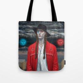 September (Moth Man) Tote Bag