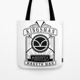 Kingmen Deco - Manners Maketh Man Tote Bag