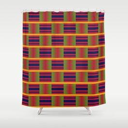 African kente pattern 2 Shower Curtain