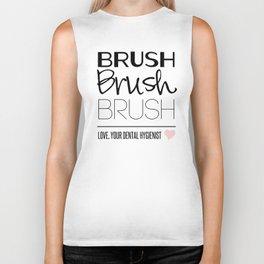 Brush Brush Brush Biker Tank