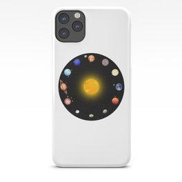 Solar System Circle iPhone Case