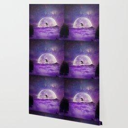 balance boy moonlight Wallpaper