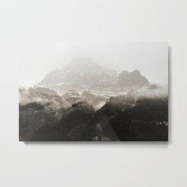 Rocky Mountain Mist Metal Print