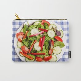 Green Salad with Red Pepper Carry-All Pouch
